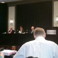 Kristy Gabrielova, attorney Marc Ellison and Judge David Patronella