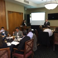 Kristy and Brian give CLE presentation on PJR at Houston Bar Association meeting